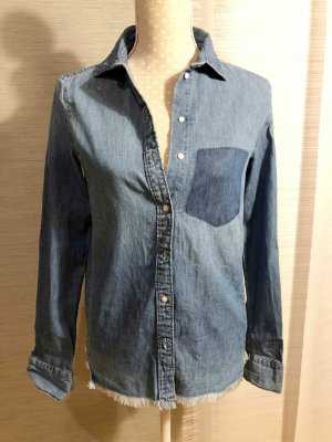 H&M Denim Shirt multicolored cotton