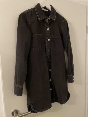 Zara Camisa vaquera gris oscuro
