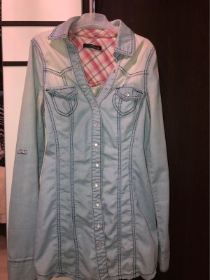Jane norman Denim Shirt azure