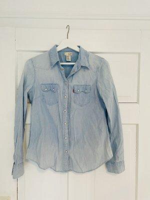 Levis Jeansowa koszula błękitny-niebieski