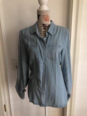 Camicia denim azzurro