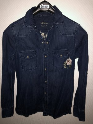 Zara Denim Shirt multicolored