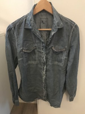 Anastacia by s.Oliver Denim Shirt pale blue