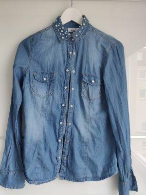C&A Jeansowa koszula Wielokolorowy