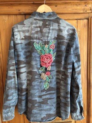 Key Largo Bluzka jeansowa Wielokolorowy