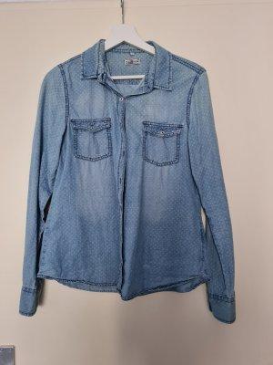UP Fashion Spijkershirt lichtblauw