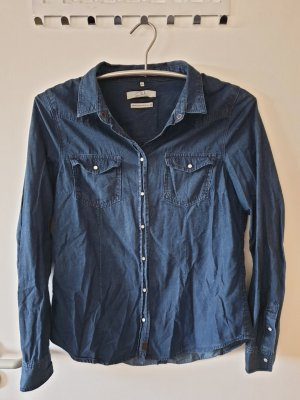 Jeanshemd Oberteil Hemd blau Gr. 40 C&A neuwertig!