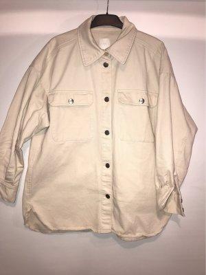 H&M Trend Camicia denim crema