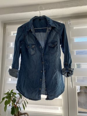 Pimkie Denim Shirt blue