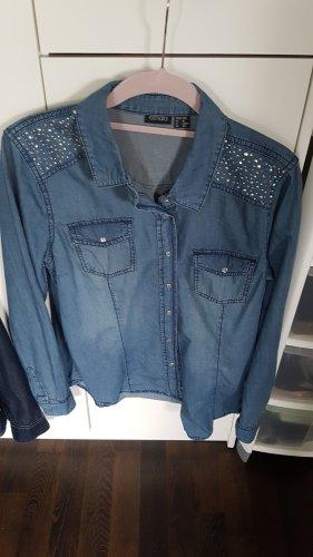 Esmara Jeansowa koszula błękitny