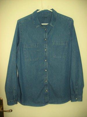 C&A Chemise en jean bleu