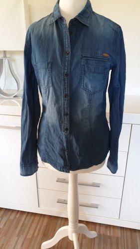 edc by Esprit Blouse en jean bleu
