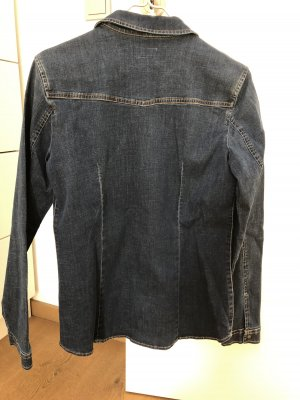 Esprit Denim Shirt dark blue