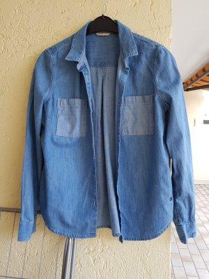 Mustang Blouse en jean bleu azur-bleu acier