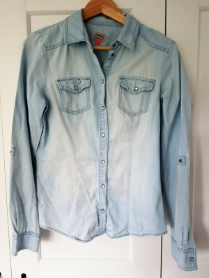 Only Denim Shirt azure cotton