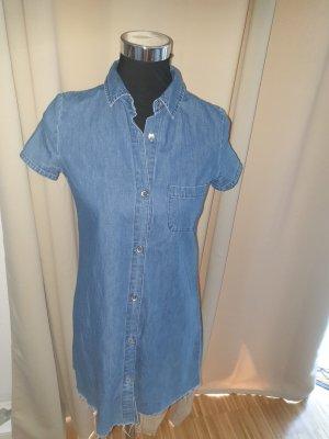 Zara Blouse en jean bleu