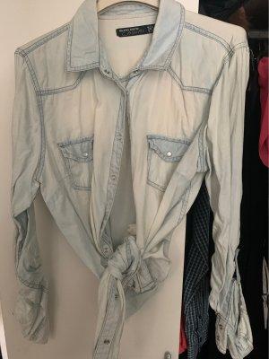 Blind Date Denim Shirt azure