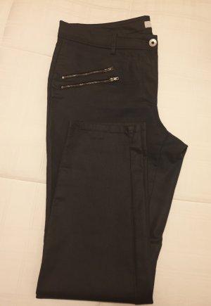 Milano Stretch broek donkerblauw