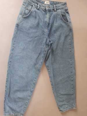 Only Jeans carotte bleu