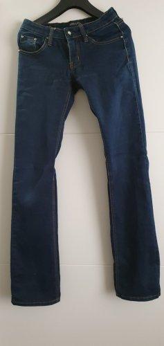 MISS ANNA Lage taille broek donkerblauw