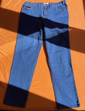John Baner Jeansy z prostymi nogawkami niebieski