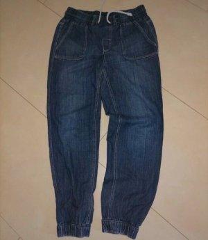 H&M Baggy Jeans blue-dark blue