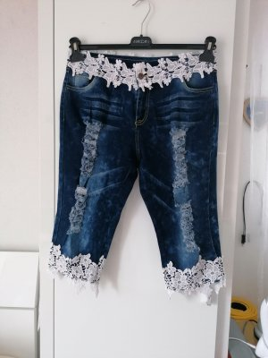 3/4 Length Jeans dark blue