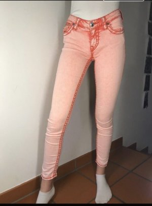 True Religion Pantalon cigarette rose-rose clair