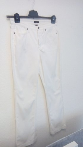 Gant Spodnie z pięcioma kieszeniami biały Bawełna
