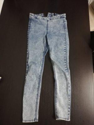 H&M Hoge taille broek azuur