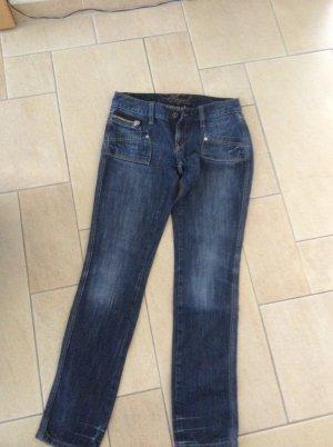 Mogul Jeans a sigaretta blu