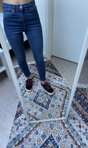 Boutique Ware Tube jeans donkerblauw-staalblauw