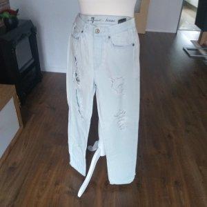 Straight Leg Jeans azure