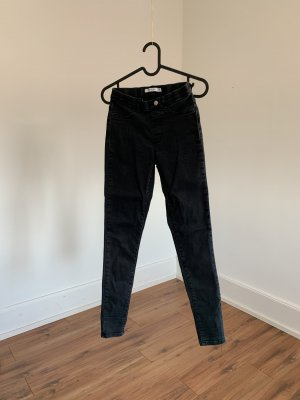 NA-KD Jeans taille haute noir