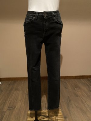 Denim Studio 7/8-jeans antraciet-zwart