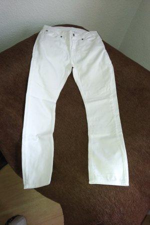 Alba Moda Stretch broek wit