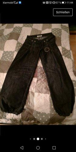 Unbekannte Marke Workowate jeansy ciemnoszary-antracyt