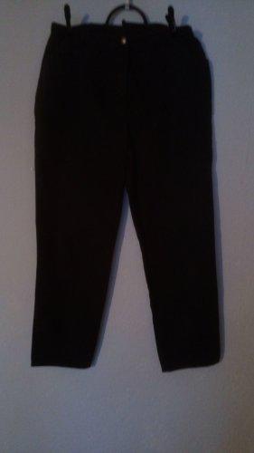 Pantalón de tubo marrón oscuro