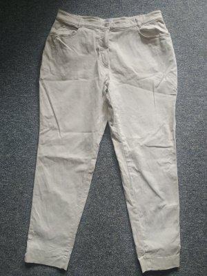 Jeanshose beige in Größe 48 von bianca