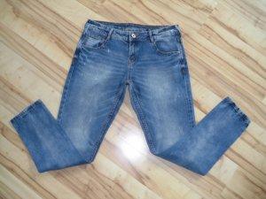1982 Tube jeans blauw