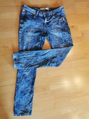 Q/S Jeansy z prostymi nogawkami błękitny-chabrowy