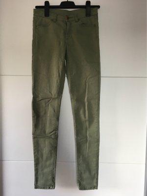 H&M Divided Jeans cigarette kaki-gris vert