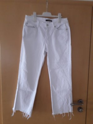 Cambio Jeans a vita alta bianco