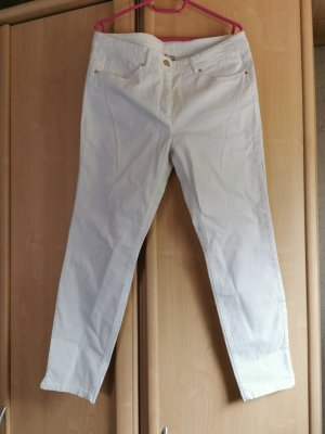Canda Stretch Jeans white-gold-colored spandex