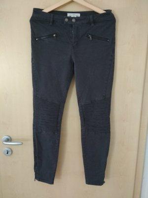 H&M L.O.G.G. Jeans de moto gris ardoise