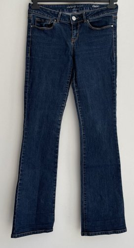 Orsay Pantalon pattes d'éléphant bleu foncé-bleu