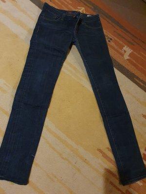 Mavi Jeans Co. Jeans vita bassa antracite