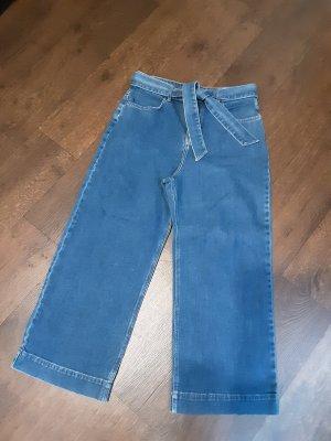 Orsay Pantalón de campana azul