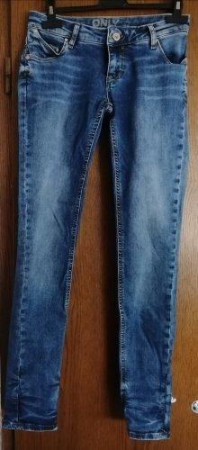 Only Jeansowe karoty niebieski