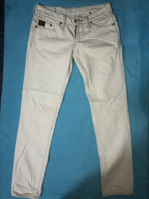 G-Star Low Rise Jeans white